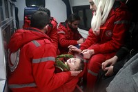 Medical evacuations begin from opposition-held Ghouta in Syria, ICRC says