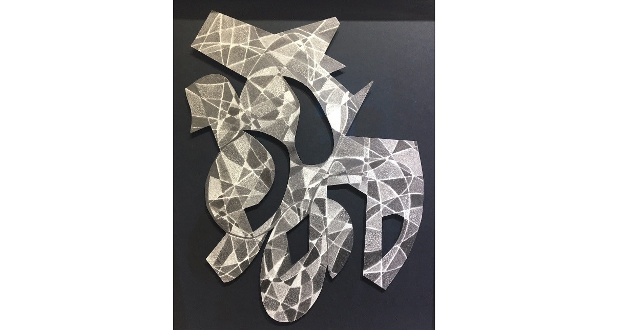 At the Memories and Letters exhibition, Gu00fcnnur u00d6zsoy reveals her artistic process from writing letters to pencil drawing that resemble her previous Costa Mesa series before embarking on her latest path in metal sculpting.