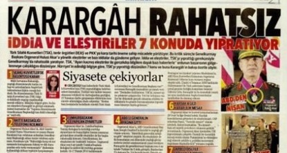 As Turkey heads toward a referendum for the constitutional amendment package which will allow the country's parliamentary system to shift to a presidential one, a controversial article published by...