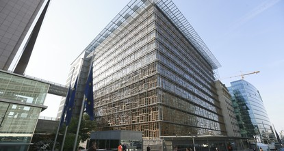 pThe EU said Wednesday it is moving this week's leaders' summit out of its new 320 million euro-headquarters into a neighboring building after chemical fumes from the kitchen sickened several...