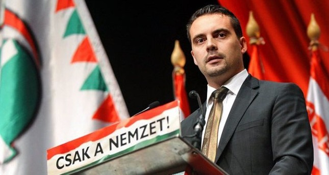 'West uneasy with strong Turkey, led by President Erdoğan,' Hungarian MP Gabor Vona says