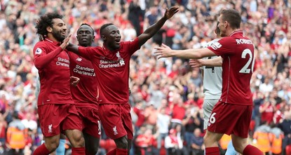 Manchester City and Liverpool put down markers