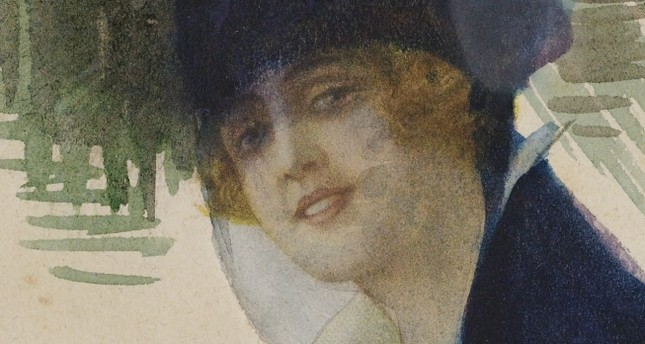 """Self-portrait,"" 1920, from Yapı Kredi Collection."