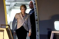 UK's May faces severe Brexit backlash, Falklands issue returns