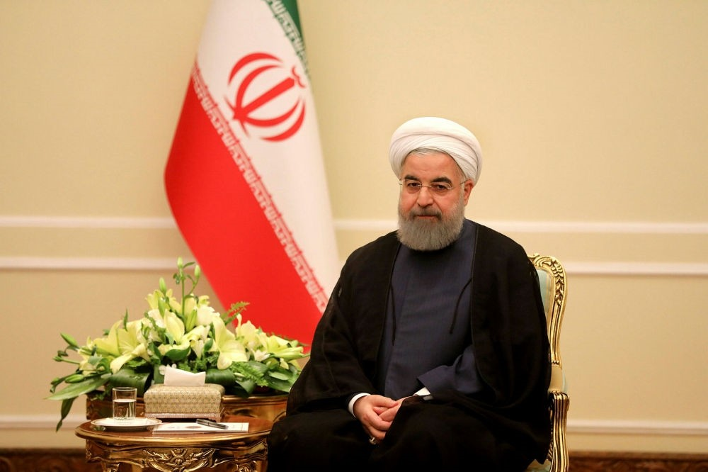 Iranian President Rouhani issued a warning to Saudi Arabia amid a war of words between the countries.
