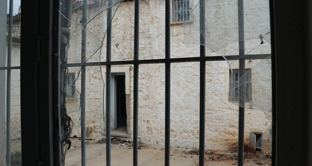 Surrounded by stone walls, the building is set to serve as a museum after the completion of the planned work.