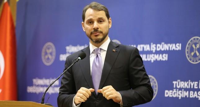 وزير الخزانة والمالية التركي: التضخم سيتراجع إلى ما دون 5 %