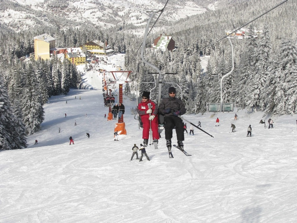 The Ilgaz Mountains are a winter paradise for skiers.
