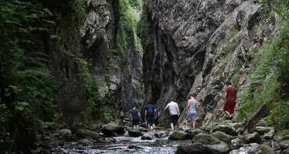 Serindere Canyon, a rugged challenge for trekkers