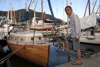 Sailing in his 8-meter wooden boat from Japan, Masuda Kiyoshi arrived in Muğla's Marmaris district for a break and to repair his boat. On his way to Marmaris, Kiyoshi followed the route of the...