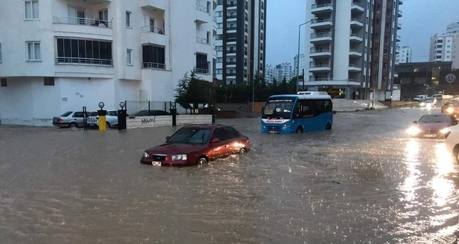 Floods hit the southern province of Mersin at the beginning of the week. AA Photo