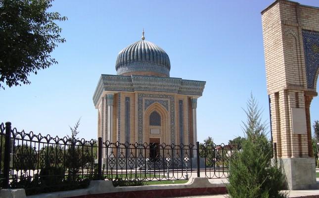 Tomb of Imam Maturidi in Uzbekistan.