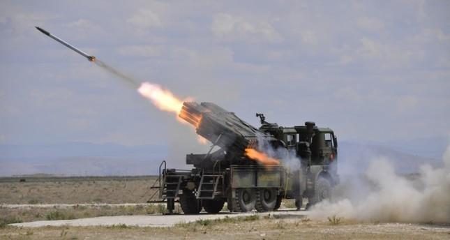 File photo of Turkey's Bora missile.