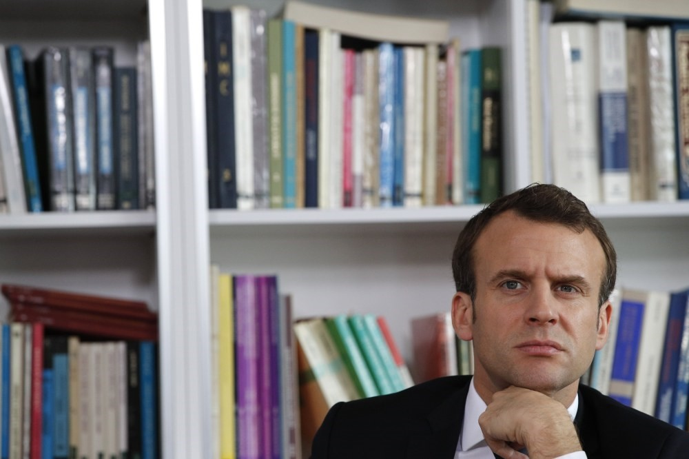 Last week, French President Emmanuel Macron (above) said that he hopes that a dialogue can be established between the Syrian Democratic Forces (SDF) and Ankara with help from France and the international community.