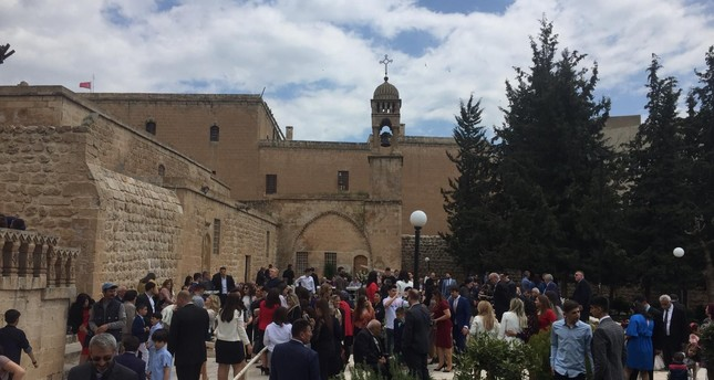 Easter was celebrated by the Assyrian community at Kırklar Church in southern Mardin province, April 28, 2019.