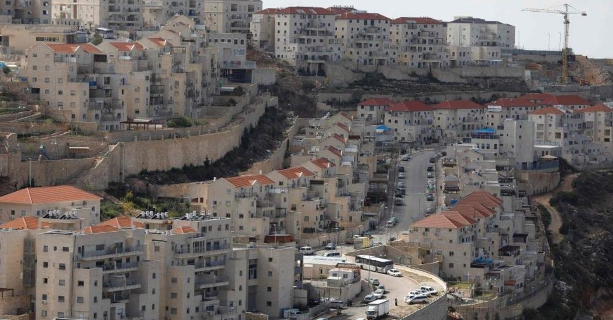 A view of the Israeli settlement of Beitar Illit on February 14, 2018 (AFP Photo)