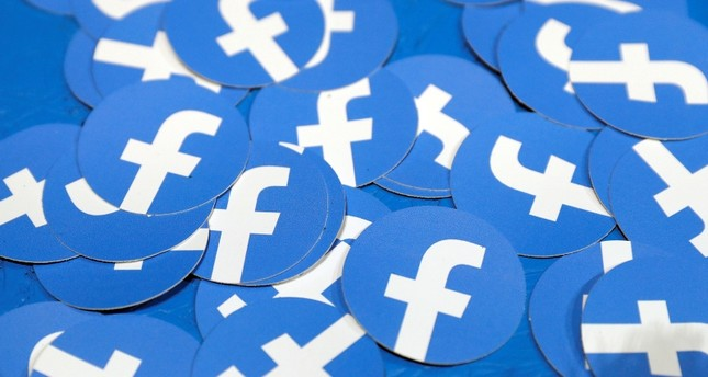 Stickers bearing the Facebook logo are pictured at Facebook Inc's F8 developers conference in San Jose, California, U.S., April 30, 2019. (REUTERS Photo)