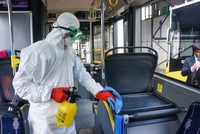 Clean transportation: Istanbul's buses cleaned, disinfected daily