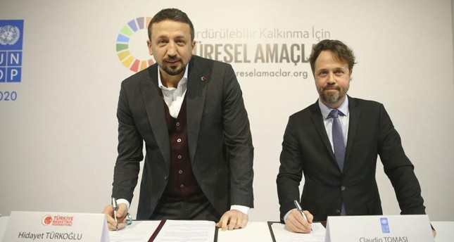 Turkish Basketball Federation signs environmental deal with UN