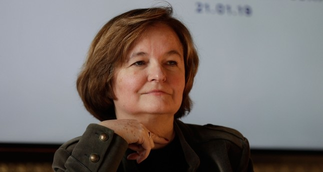 European Affairs Minister Nathalie Loiseau takes part in the second edition of the Choose France summit, on January 21, 2019 in Versailles. (AFP Photo)