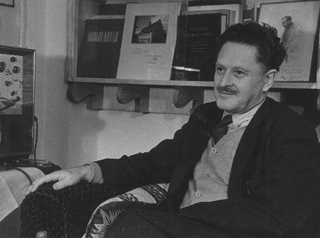 File photo of Turkish poet Nazu0131m Hikmet