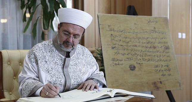 غورماز يزور اتحاد العلماء المسلمين في الدوحة ويلتقي القرضاوي
