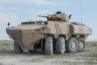 Omani military launches Turkish-made armored personnel carriers