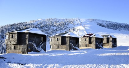 pLocated on the foothills of Zigana Mountain, Limni Lake Natural Park is covered with snow this time of year, offering weekend vacationers a great chance to enjoy the beautiful winter...