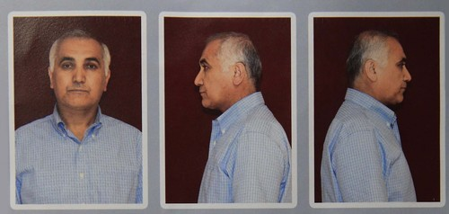 Mugshots of Öksüz taken during detention in Ankara's Kazan district on July 16 before his release. (AA Photo)