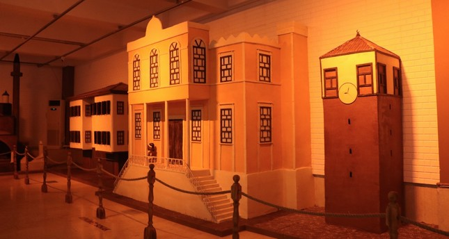 Chocolatier Mesut Kırımlı made models of famous Safranbolu houses in chocolate for the museum.