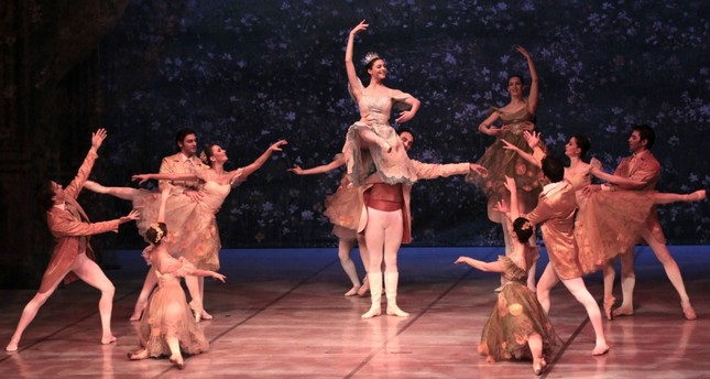 The Nutcracker ballet performed by the Samsun State Opera and Ballet.