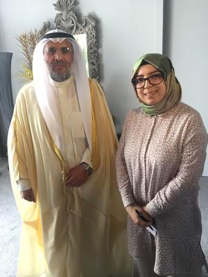Abdulrahman al-Mutawaa (L) spoke to Daily Sabah's Merve Aydoğan.
