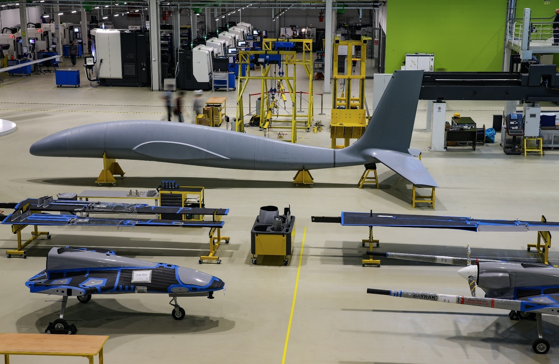 Baykar Makina is also involved in the production of Turkeyu2019s armed drones.