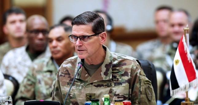 قائد القيادة المركزية الأمريكية خلال اجتماع رؤساء أركان دول مجلس التعاون الخليجي (الفرنسية)