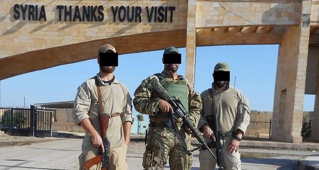 عناصر من تنظيم ي ب ك الإرهابي تتلقى تدريبات على يد موظفي شركة أمنية أمريكية
