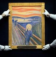 'The Scream' may have been inspired by weird clouds'