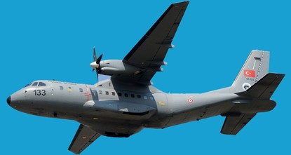 pThree crew members aboard the CASA CN-235 military training plane died Tuesday after the aircraft crashed in Turkey's southern Isparta province, the governor said./p