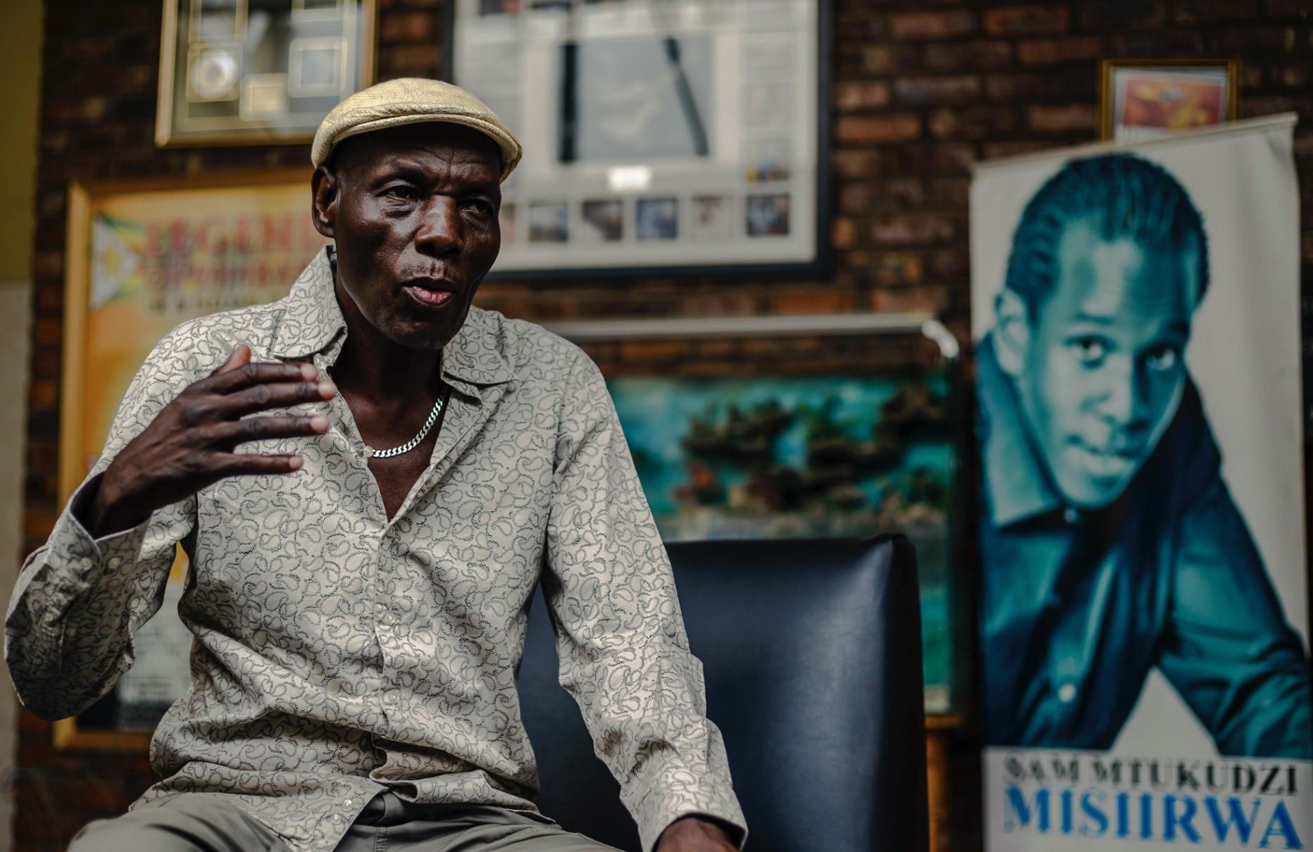 Zimbabwean music icon Oliver u201cTukuu201d Mtukudzi.