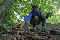 Man desperately searches for remains of family massacred in Srebrenica