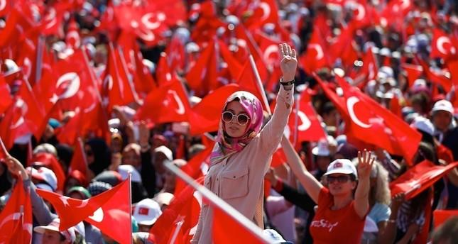 14 مليون شاب وشابة يتلقون رسائل خطية من يلدريم حول تعديلات الدستور
