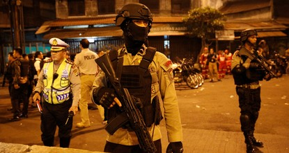 pA suicide bombing attack outside a busy bus terminal in the Indonesian capital Jakarta on Wednesday killed three police officers, the latest assault to hit the Muslim-majority country as it...