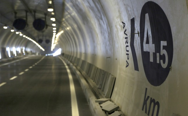 Istanbul's Eurasia Tunnel opens Tuesday