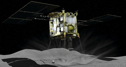 Japan's Hayabusa2 probe lands on asteroid 300 million kms from Earth