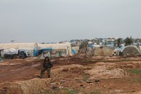 Refugees in Syria's Atmeh camp trying to survive in heart of YPG danger