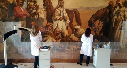 Restored Orientalist work to go on display in Istanbul