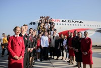 Albania's first national airline Air Albania launches maiden flight