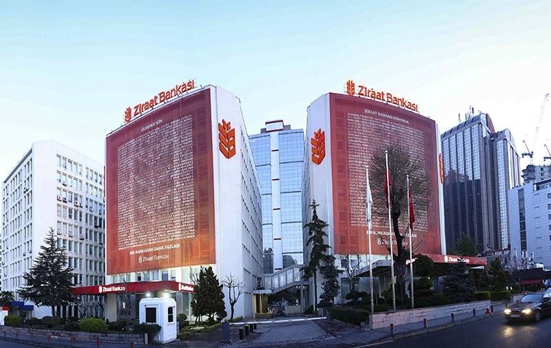 Ziraat Bank headquarters in Maslak, Istanbul.