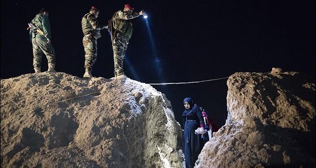 صورة الهروب من داعش، للمصور الصحفي الفرنسي، فريدريك لافارج