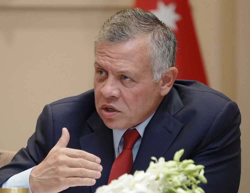 Jordan's King Abdullah II announced his intention not to renew parts of the 1994 peace treaty with Israel, Oct. 21.