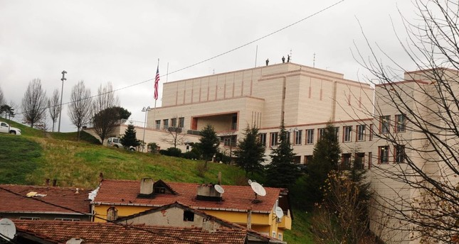 The recent investigations revealed phone contact between U.S. consulate (above) staff in Istanbul and FETÖ figures.